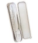 小麥餐具吸管4件組(細6mm)