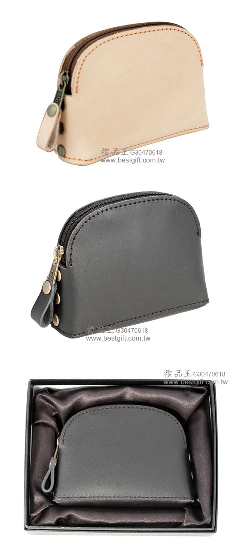 牛皮拉鍊式零錢包   商品貨號: G30470618